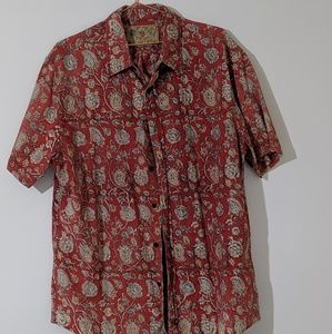 Polo Jeans Company Short Sleeve XL Button up 90s